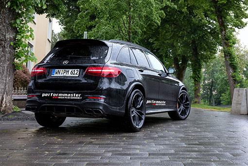 Leistungssteigerung Mercedes-AMG GLC-63