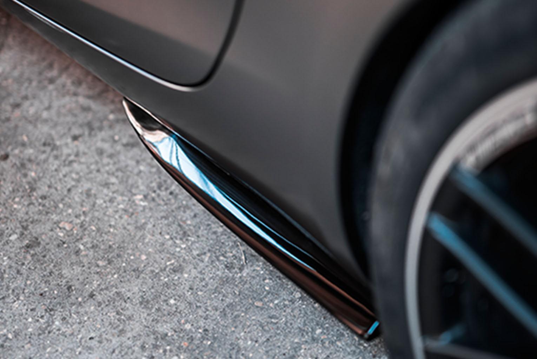Mercedes-AMG Aerodynamik Side-Flaps