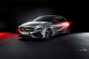 Leistungsteigerung und Vmax-Aufhebung Mercedes A45 AMG