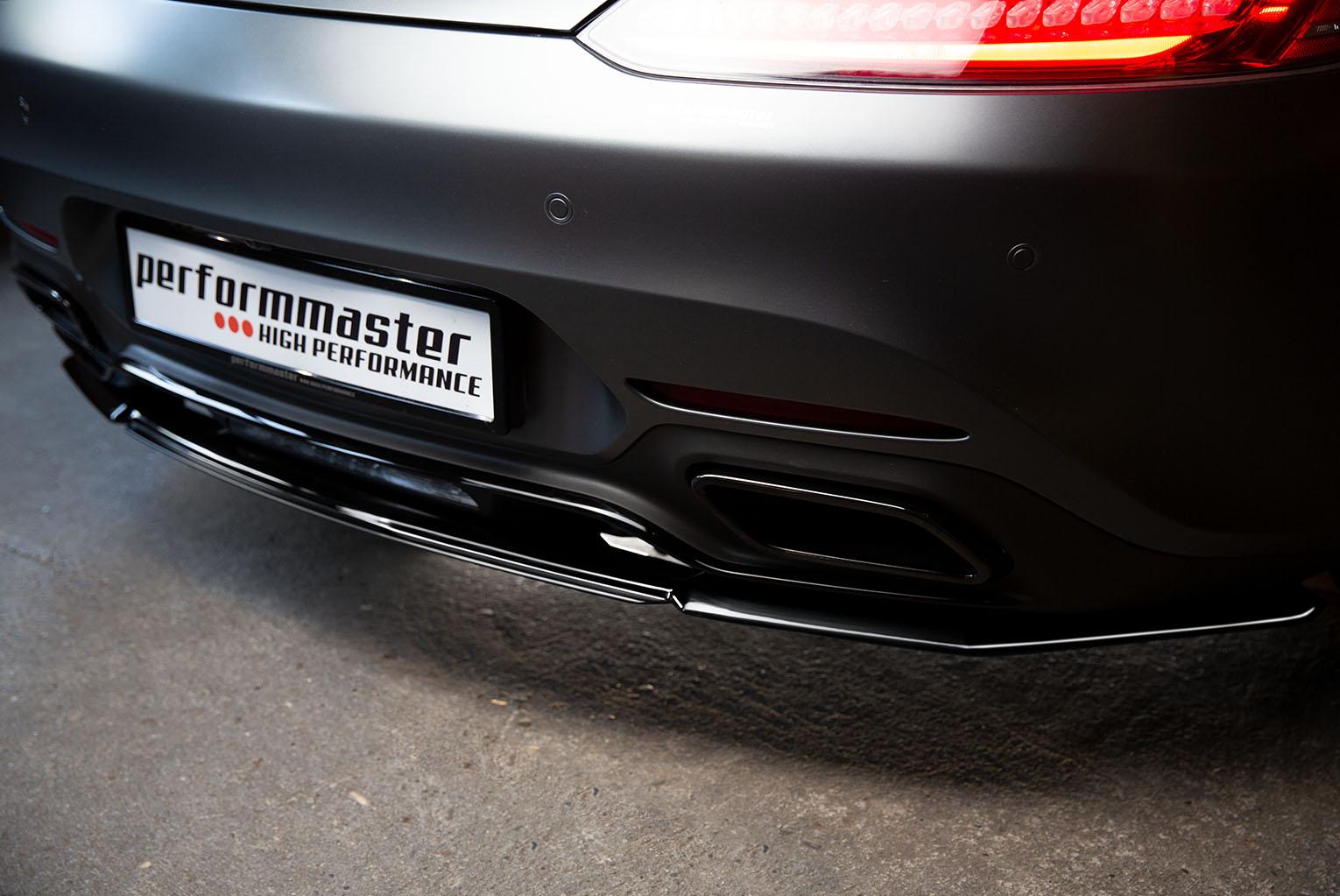 Mercedes-AMG Aerodynamik Diffusor