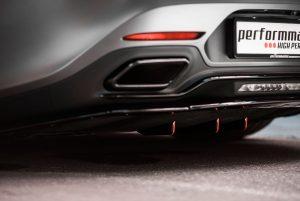 Mercedes-AMG Aerodynamik Finnen