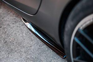 Mercedes-AMG Aerodynamik Side Flaps