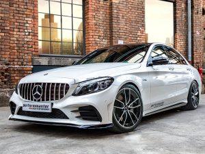 Mercedes-AMG-C43-Tieferlegung-Nachher