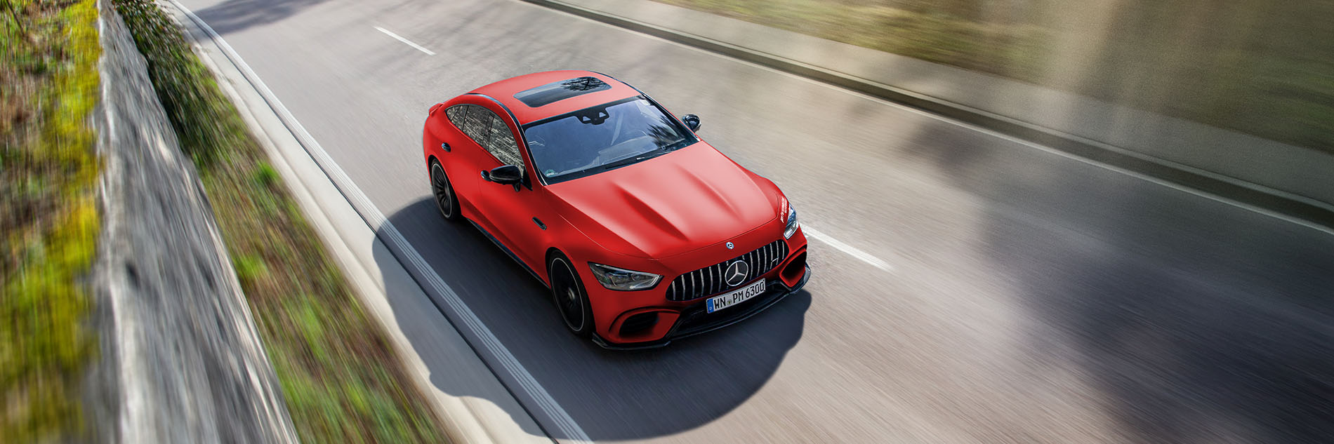 Mercedes AMG GT 63 S Chip Tuning 810 PS
