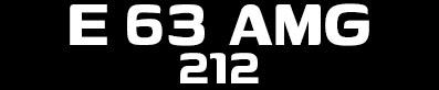 Tuning Mercedes E63 AMG W212
