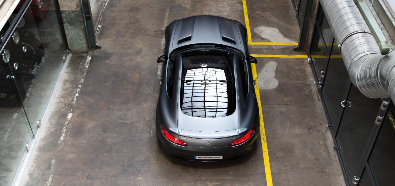 performmaster AMG GT Heckspoiler von oben