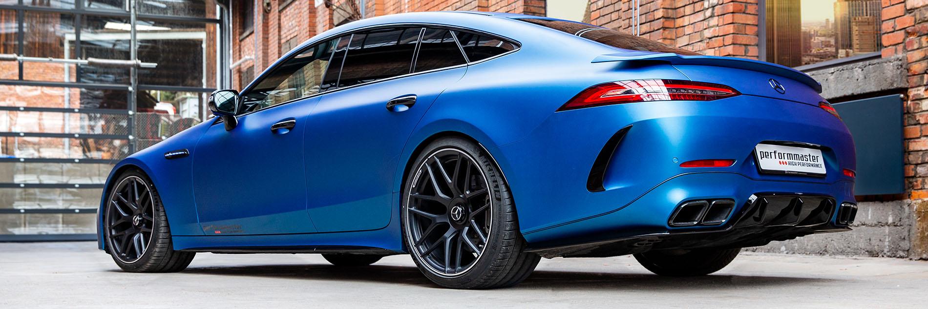 Aerodynamik Optimierung Mercedes-AMG GT